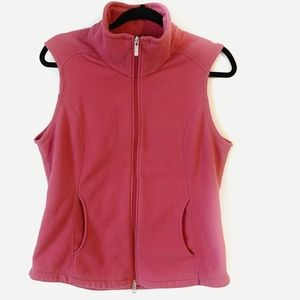 Lands End Women's Fleece Vest Size M(10-12)